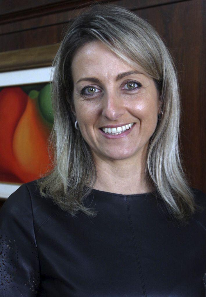 13/04/2016 - Porto Alegre, RS - FEDERASUL - AGO - (AssemblŽia  Geral Ordinaria). Simone Leite Ž a nova presidente da Federasul para o beinio 2016 - 2018. Foto: Itamar Aguiar/Agencia Freelancer.